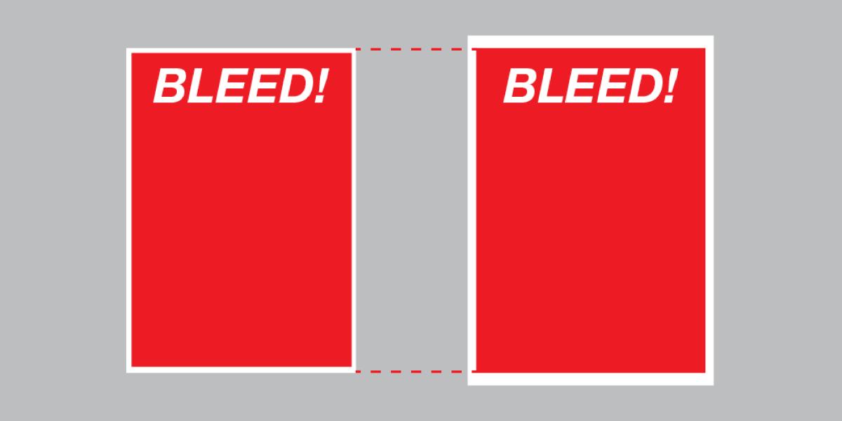 A4 No Bleed Vs SRA4 No Bleed